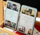 New  vintage lomo tokyo photo Sticker pack  (14 pcs) / Tin Box set /  Decoration / Wholesale(China (Mainland))