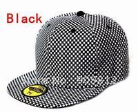 Free Shipping Plaid pattern hip-hop cap, Skateboard hat, Bboy caps, Sport baseball hats, 2 color 10pcs/lot