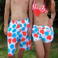 Женские пляжные шорты 2012 Fashion Hot sales Quick-drying ladies beach pants quick dry shorts knee-length pants women beachwear