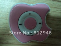 hot selling ,fashion  plastic mp3 clip  with build in speaker , 5 pcs /lot ,free shipping