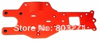 gas powered Baja 5B/5T part,REAR CHASSIS PLATE,orange-Free shipping by China post mail