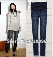 Free Shipping 2012 Maternity Pants Jeans Pregnant Women Pants in spring and Autumn