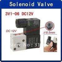 Wholesale DC 12V 29mA 2 Position 3 Way Pneumatic Solenoid Valve