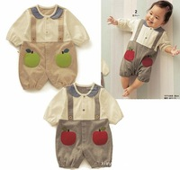 Baby Boys Bodysuits One-Pieces Rompers Twin outfit  spring & fall (Baby clothes)Even the body climb