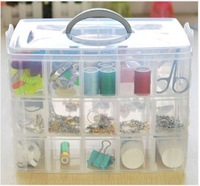 Large 3 layer 30 PP box portable  Storage box