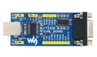 FT232 EVAL BOARD integrated level converter, make the I/O mouth level support 5 V-2.8 V of wide range