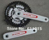 Free Shipping The Suntour XCR mountain bike crankset / Bicycle crankset / bicycle chainwheel 44 tooth 9 / 27 speed