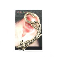 cross earrings ear hook er159