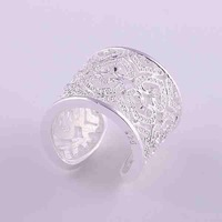 Min.order is $15(mix) R106 Heart Ring ! High Quality,  silver heart ring. fashion jewellry silver rings