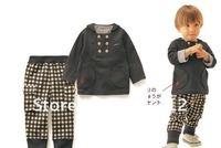Free shipping guaranteed 100% Male Tong Gezai pants suit casual children's clothing