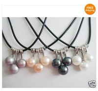 WHOLESALE 4 SET 4 COLOR AKOYA CULTURED PEARL NECKLACE