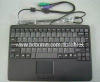 PS/2 interface Laptop-type Standard Keyboard K88C with Touchpad