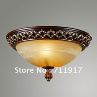 E27 resin hotel or home room round shape classical ceiling light