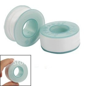 High quality Water Pipe Air Hose Threads 19mm Width PTFE Seal Tape 2 Rolls Free Shipping