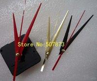 FREE SHIPPING 10PCS/lot Quartz Clock Movement Kit Spindle Mechanism shaft 16.5mm with hands Wholesale