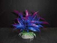 Free shipping 14CM 10pcs/bag plants aquarium artificial