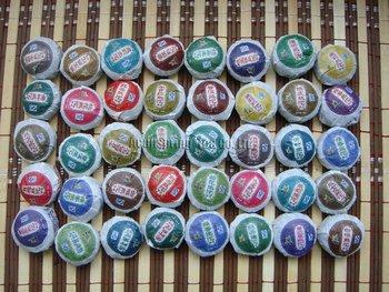 Free Shipping! 40 Kinds Flavor Pu'erh tea, Yunnan Puer tea, Pu er, Chinese Tea, Mini Tuo Cha