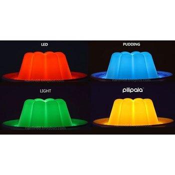 Free Shipping!!Wholesale,Novelty LED Move feeling apple Clap lamp/Fashionable Household Decoration Night Light/Photo Color/P436