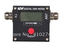Digital Mini VHF/UHF Power&SWR Meter 120W LCD Display with High-Performance CPU /free shipping