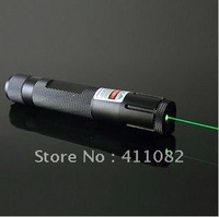 Free shipping Focus Adjustable 532nm 1000mW High power green beam laser pointer Torch light match green lasers