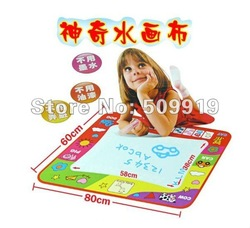 Free shipping discount tablet toys Aqua Doodle drawing toys Magic Doodle Mat 80*60cm drawing low price(China (Mainland))