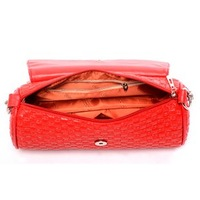 Клатч Shipping Hot-selling fashion handbag genuine leather scrub single shoulder bag