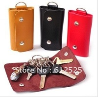 Free shipping Cortical key bag/fashion key ring