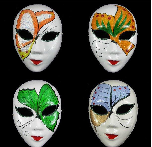 Imagenes de mascaras de yeso decoradas - Imagui