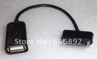 Free SHipping NEW FOR Samsung Galaxy Tab 10.1 8.9 USB Host OTG Cable Connection Kit Adapter 10pcs/lot drop shipping