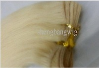 Wholesale blonde hair bundles queen hair blonde brazilian hair bundles blonde hair weft #613 100g/pcs 4pcs to sale