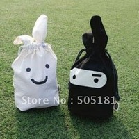 hot free shipping new arrivel wholesale,Shrink bags masked rabbit, pouch rabbit shopping bag Christmas gift 10pcs