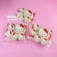 180pcs (5pcs/bag) cute hello kitty eraser /cartoo pencil eraser/office supply/Cartoon Eraser/Kids gift