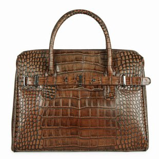 handbags fashion 2012 new leather bags 100% Guaranteed Genuine Leather bags for women designer handbag vintage Crocodile pattern