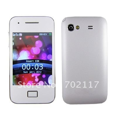 5830 3.2'' touch screen JAVA free analog tv Dual sim dual cameras cell phone(China (Mainland))