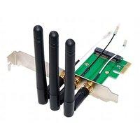 Mini PCI-E to PCI-E Wireless Adapter Converter with 3 Antenna