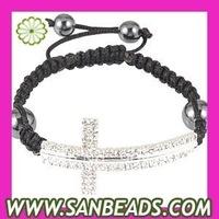 Free Shipping! 5 pcs/lot Macrame Bracelet, Fashion Shamballa Macrame Bracelet Wholesale