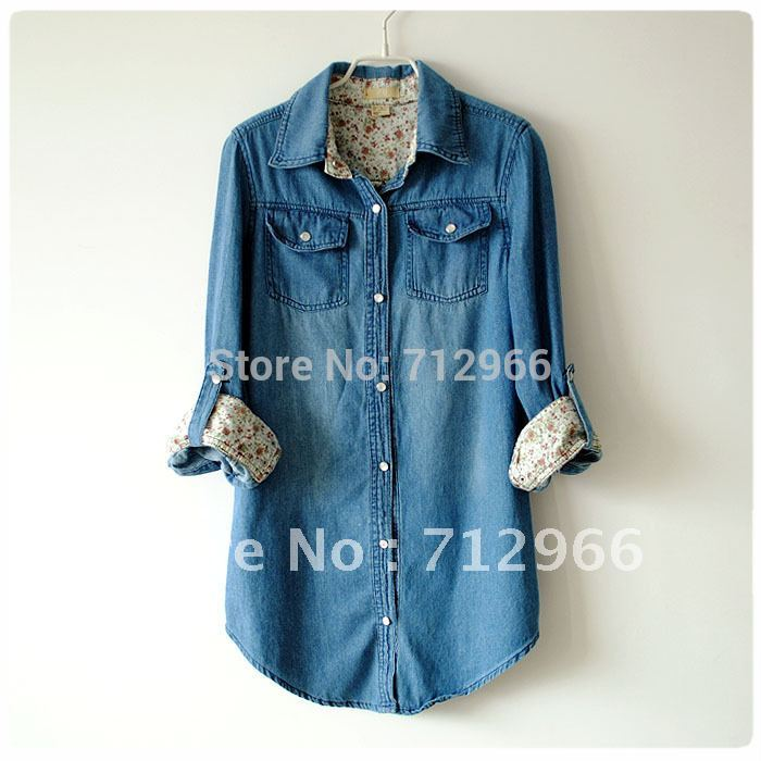 Long Shirts For Women http://www.aliexpress.com/store/product/2012-autumn-fashion-cheap-women-s-long-sleeve-denim-shirt-long-sleeve-denim-shirts-women-denim/712966_617028962.html