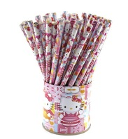 Free shipping,cute hello kitty wooden HB pencils,60pcs /lot,kids stationery gift,wholesale
