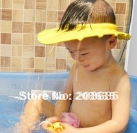 Baby Shampoo hat,Child shower hat,kid Bath hat, Yellow / Pink / Blue,2pcs/lot, freeshipping,dropshipping