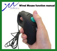 10pcs/lot Wholesale Y-10 trackball wired mouse, hand-held multipurpose mouse