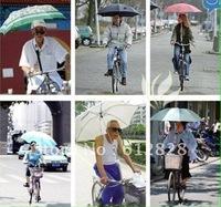 2PCS FREE SHIPPING Bike umbrella stand electric car/ motorcycle/ bicycle umbrella holder rack