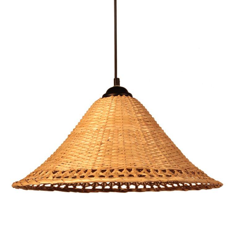 pendentif lampe en rotin lustre plafonnier salon chambre. Black Bedroom Furniture Sets. Home Design Ideas