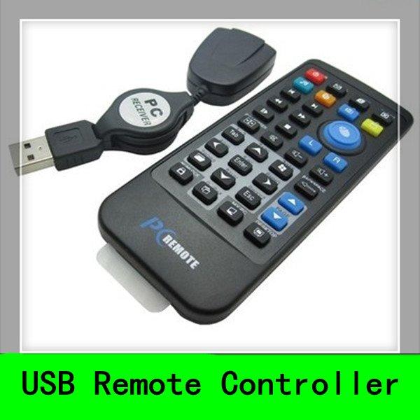 5pcs PC Computer Remote Control USB Media Center Controller(China (Mainland))