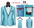 Men&#39;s business Suits Brand Fashion Party Suit  2012 Yellow&amp;Blue