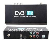 Car  High Speed H.264 DVB-T2  HD BOX  MPEG-4 Digital TV Receiver Box  Free shipping