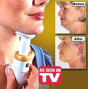 Professional Chin Neck Neckline Toner Slimmer Exerciser Massager