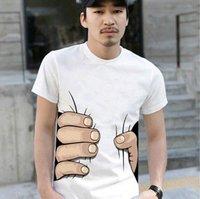 boys men's fashion T-shirt short sleeve shirt catch you tee shirts cotton high quality M L XL XXL free shipping