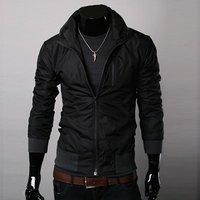 2012 NEW excellent quality, dropship elegant cool men's jacket coat
