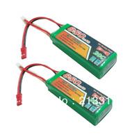 2 x Upgarde 11.1V 800mah 850mAh Lipo Battery for ESKY Big LAMA E-500 Honey Bee 2