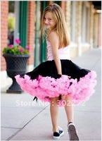 New Baby girl's 2 colors Tutu Skirt  pettiskirt tutu skirt  5pcs/lot
